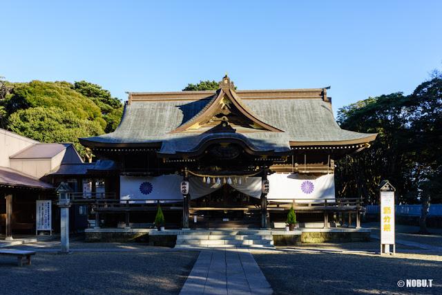 酒列磯前神社の社殿