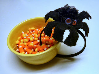 Halloween spider hairband