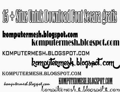 situs+untuk+download+font+secara+gratis