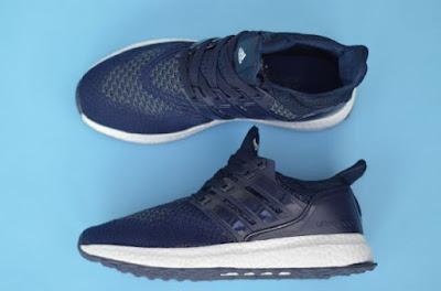 Sepatu Adidas Ultraboost Shoes Men (import) Navy