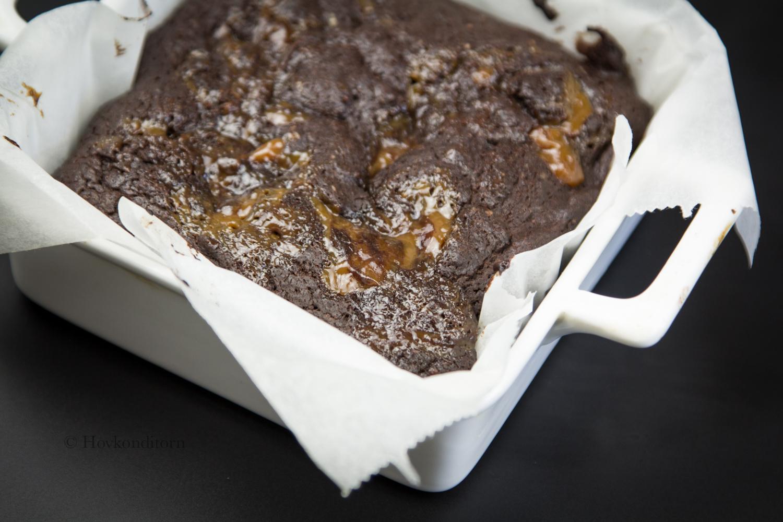 Hovkonditorn Caramel Brownies