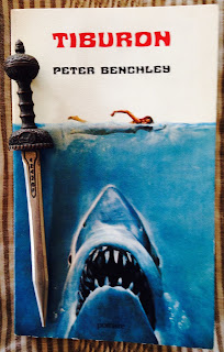 Portada del libro Tiburón, de Peter Benchley