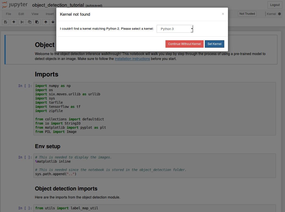 TensorFlow Object Detection API for Ubuntu | programming matrix