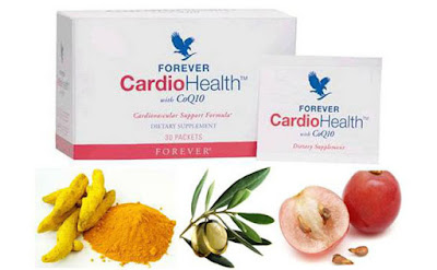 Forever Cardio Health® With CoQ10 A Special Formula Designed To Mix With  Our Forever Aloe Vera Gel™ To Provide Three Important Nutritional Supports  For ...