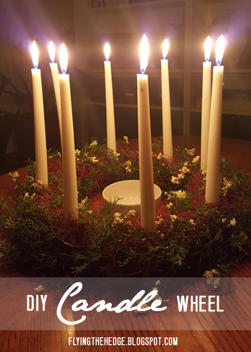 DIY Candle Wheel