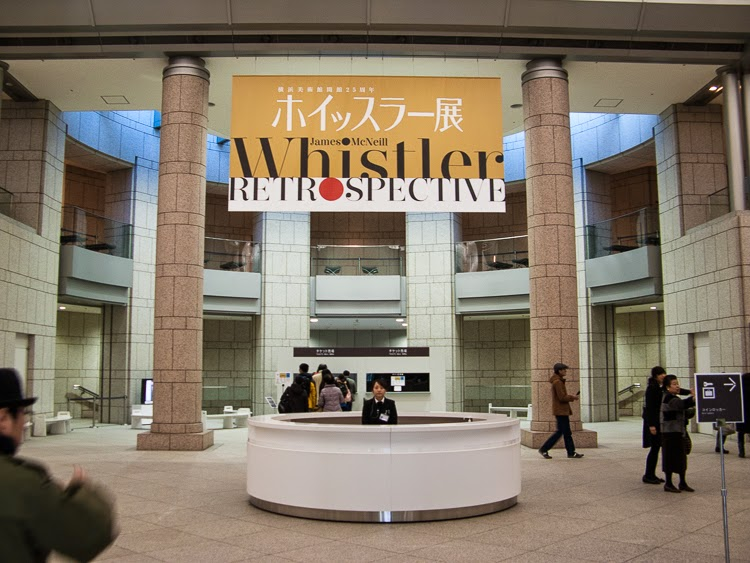 Whistler Retrospective at the Yokohama Museum of Art, Yokohama.