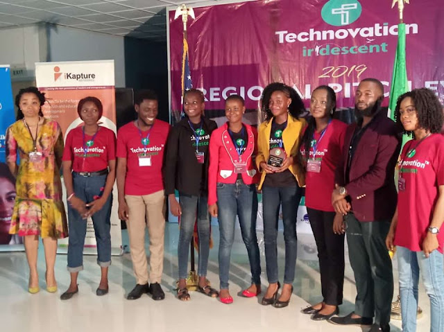 Winners of Technovation challenge 2019