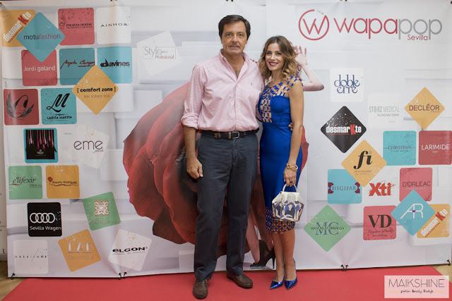 Jose Luis González de OneSixOne y Beatriz Jarrín, en Wapapop