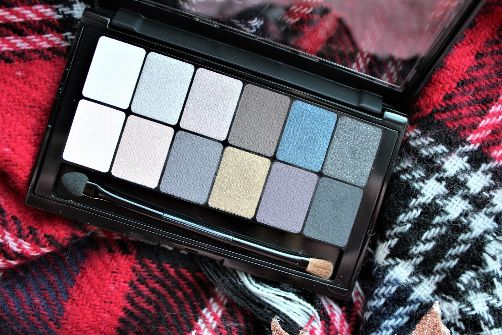 maybelline the rock nudes palette review blog