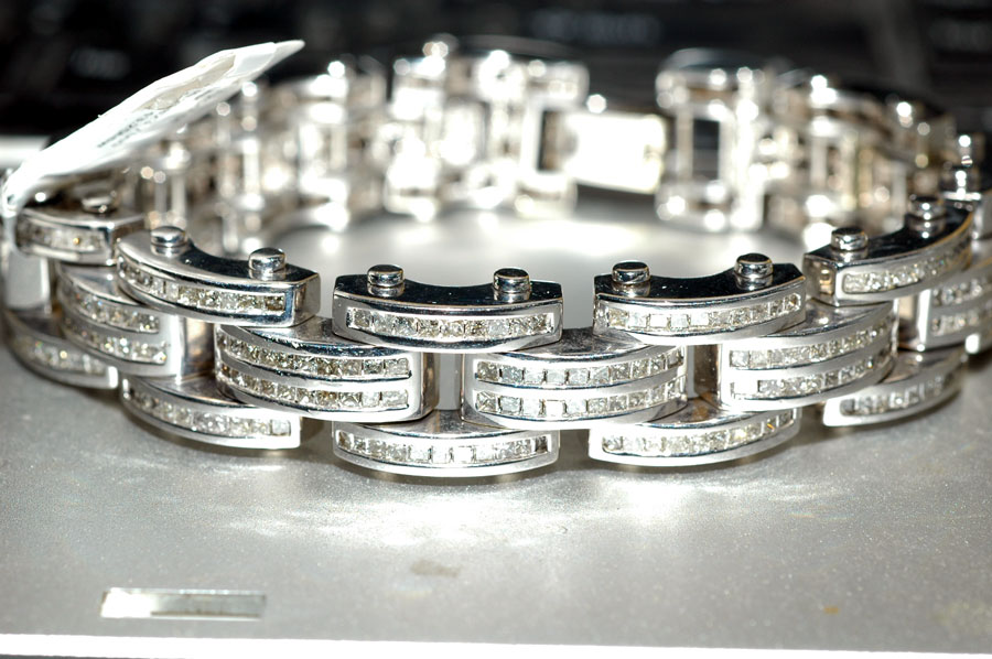 Mens Diamond Bracelets Fashion Unique Design