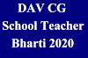 DAV CG School Teacher Bharti March 2020