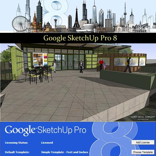 Penestanan Gratis: Download Free Google SketchUp Pro 8 + V