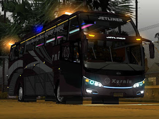 Download mod Ets2 bus JETLIBER SHD