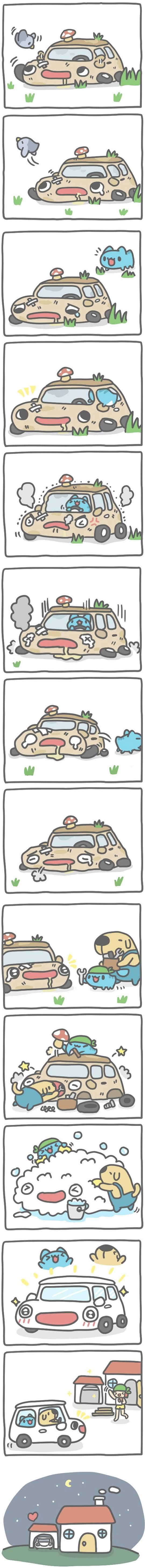 Truyện Mìn Lèo #400: Xe hơi cũ