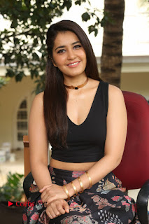 Rashi Khanna Pictures at Hyper Movie Interview (Set 4)