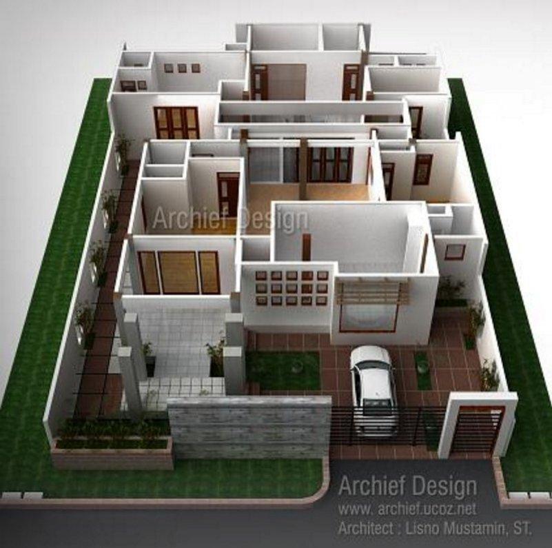 Desain Denah Rumah 4 Kamar 7x15 Minimalis Rumahminimalispro Com