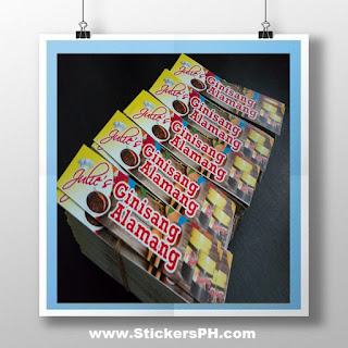 Digitally Printed Paper Sticker Labels