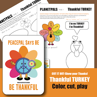 Share your Thanks With This Activity at the Thanksgiving Table Or In The Classroom