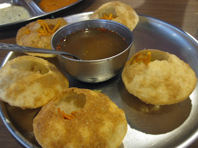 Madras New Woodlands Restaurant, pani puri
