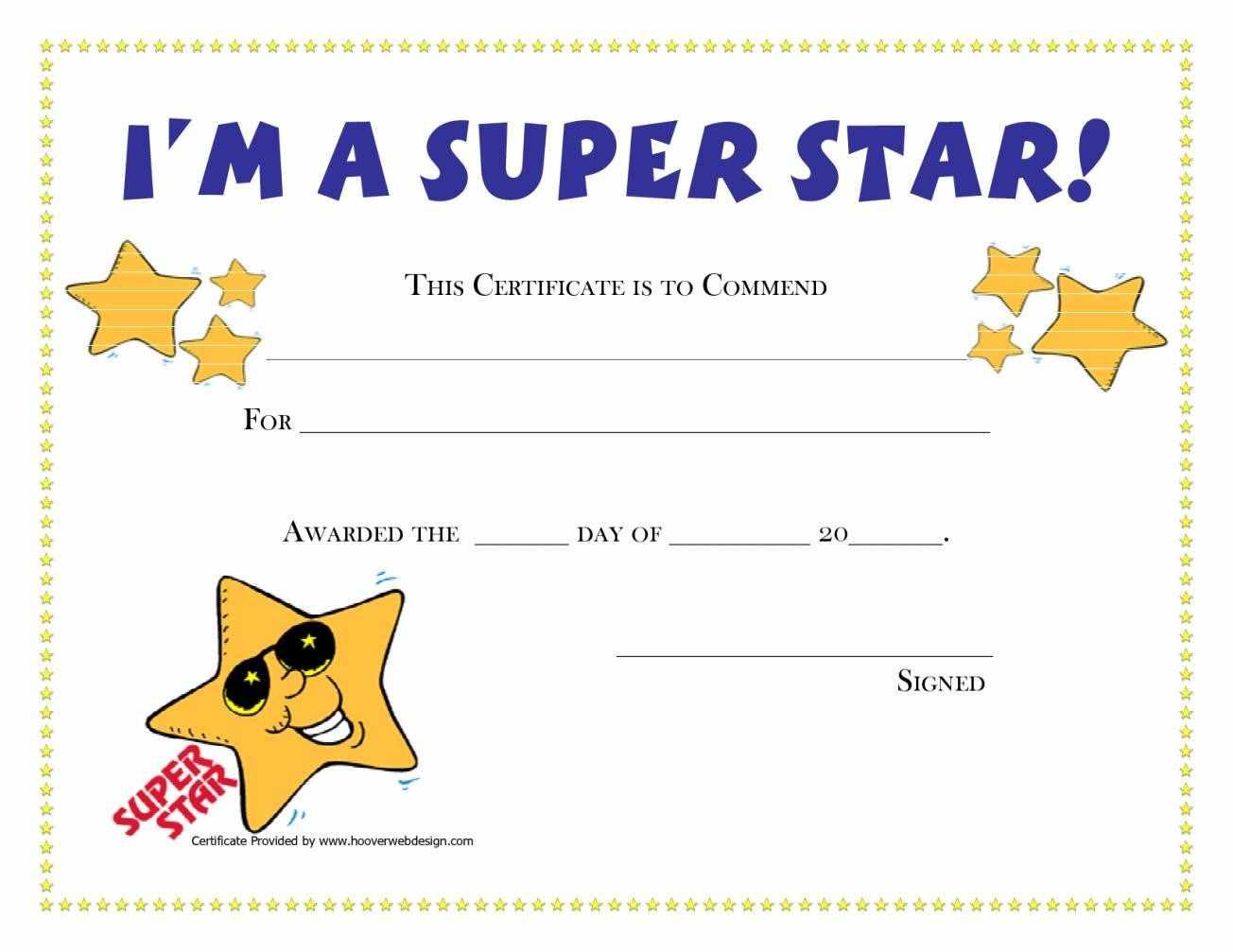 Certificate Templates Sample Award Certificates
