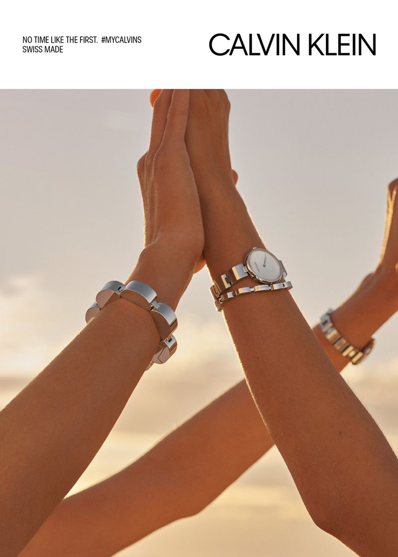 Calvin Klein Watches and Jewelry Campaign Spring/Summer 2019