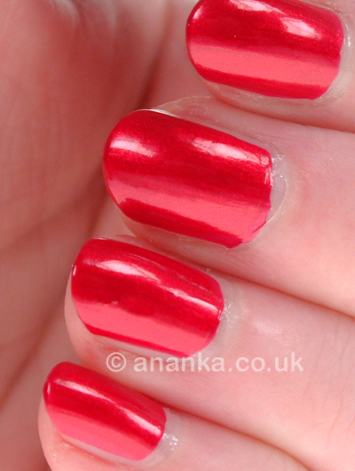 posh polishes china glaze cranberry splash