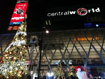 セントラルワールドのクリスマス