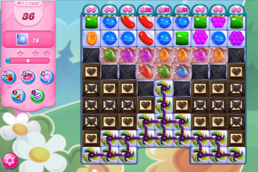 Candy Crush Saga level 7382