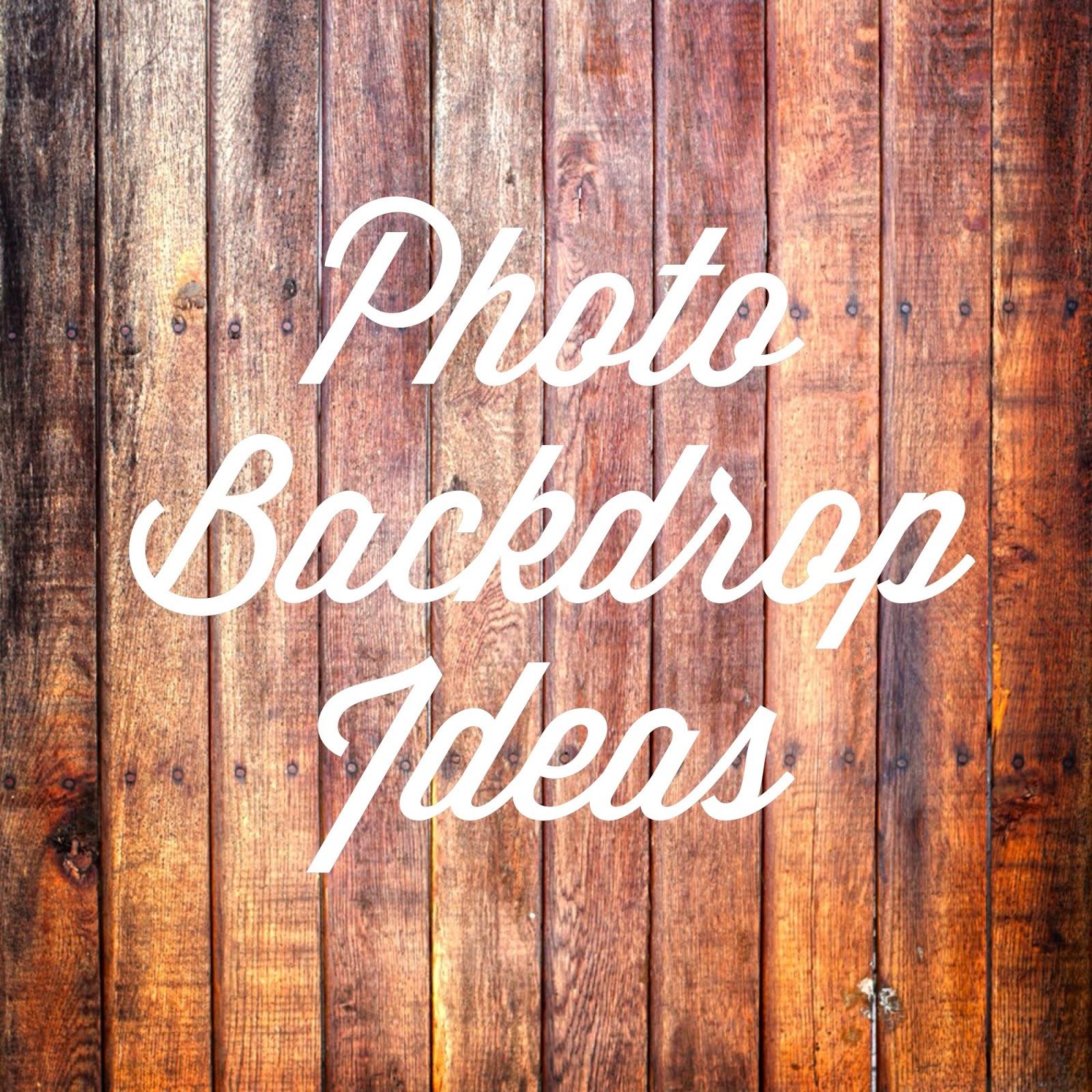 Wedding Photo Backdrop Ideas: Weddings At Wilderness Ridge: Photo Backdrop Ideas
