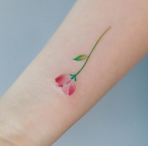 Este bonito pouco de flor