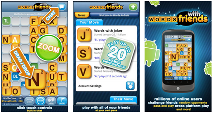 Words With Friends android