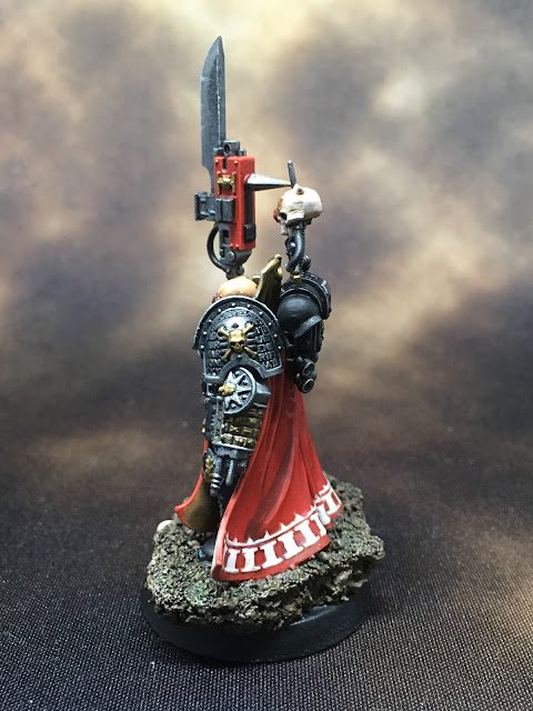 Deathwatch Watch Master Amiel left side
