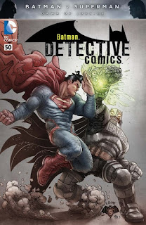 Pour fêter la sortie de Batman v Superman au cinéma, DC comics nous prépare une petite fournée de variant covers représentant les deux héros mythique de l'éditeur. Pour le moment seul 3 variants ont été dévoilées, chacune déclinées en 3 versions.  Detective comics #50:    variant by Rafael Grampa        Action comics #50:    variant by Martin Ansin       Superman/Batman #30:    variant by Kevin Maguire      Voici la liste des autres variant covers à venir:  3/16: Robin Son of Batman #10 (variant by Ryan Ottley) 3/16: Superman #50 (variant by Kaare Andrews) 3/23: Batman #50 (variant by Chris Daughtry and Jim Lee) 3/23: Grayson #18 (variant by Stephen Platt) 3/23: Superman/Wonder Woman #27 (variant by Charlie Adlard) 3/23: Wonder Woman #50 (variant by Massimo Carnevale) 3/30: Batgirl #50 (variant by Kevin Nowlan)