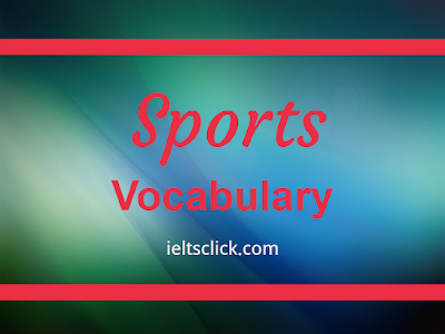 IELTS Sports Vocabulary