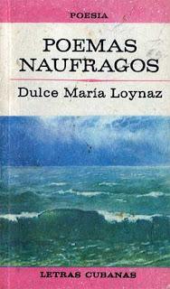 POEMAS NÁUFRAGOS (Editorial Letras Cubanas, 1991)