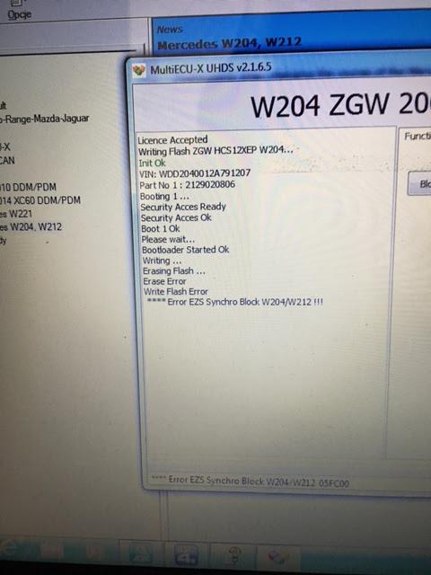 Avdi-W204 km changement