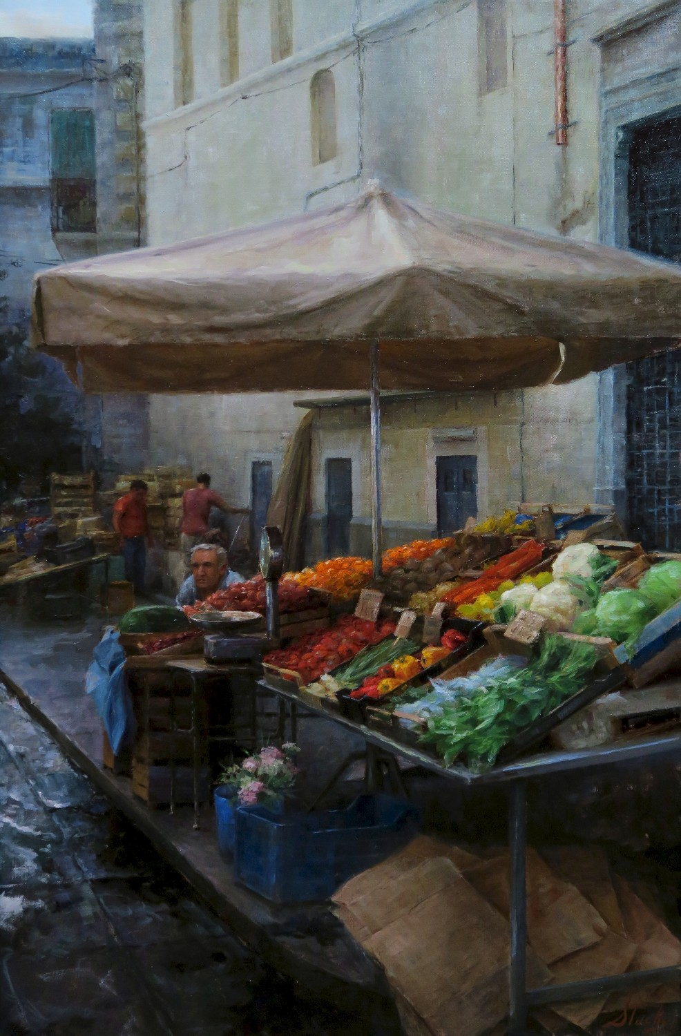 Kyle Stuckey Fruit Stand in Naples