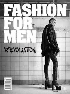 John Kolic Covers Fashion For Men #6 Revolution