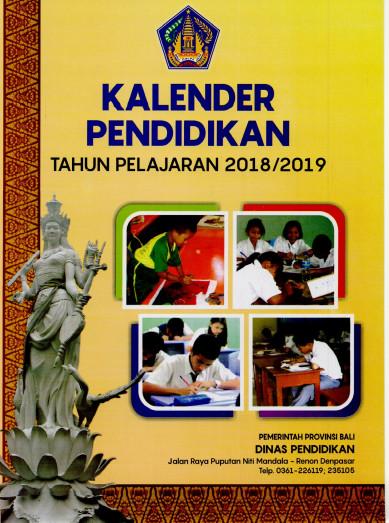 Kalender Pendidikan Bali Tahun 2018/ 2019