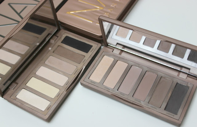 A picture of Urban Decay Naked Basics and Urban Decay Naked Basics 2