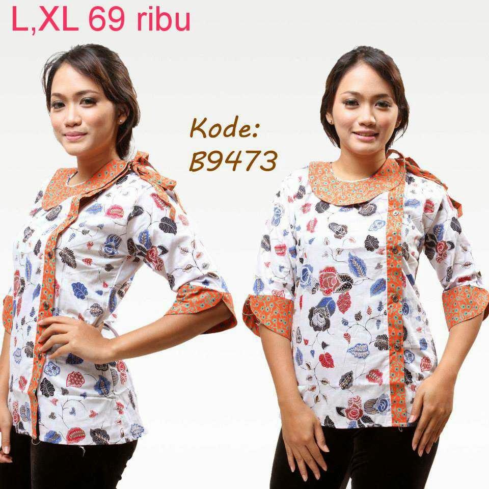 Download Baju Batik Wanita: Kumpulan Model Baju Batik Wanita
