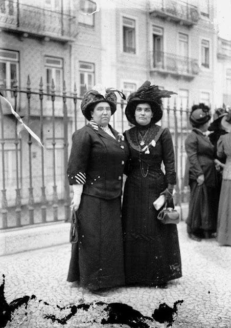 Portuguese suffragettes
