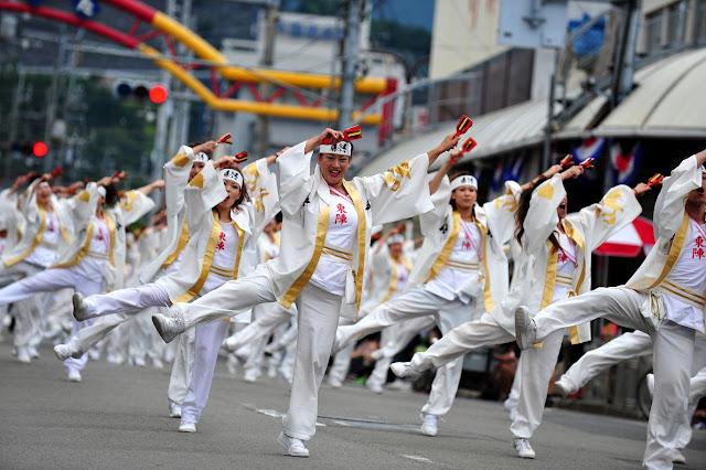 Yosakoi Odori Festival (Dance Festival) in Kochi Pref.
