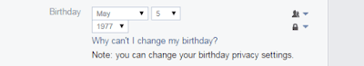 How Can I Change Birthday Date On Facebook