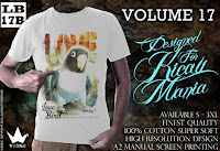 Kaos Burung Love Bird (Lb-17B)