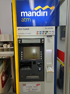 ATM Link Himbara di Salah Satu Mininarket