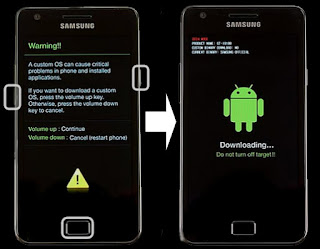 Flashing Samsung Galaxy S5 SM-G9600