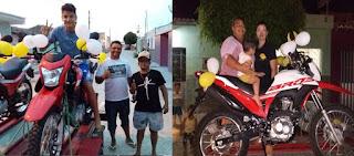 Venda Premiada entrega motos 0km para ganhadores do último sorteio