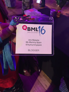 BritMums Live 2016, Lanyard, Name Tag, Ami Roberts, Blogger, Blog, @Mymummyspam, My Mummy Spam, BML16, Event Tag,