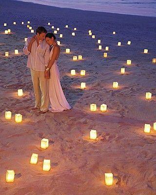 casamento com lanternas